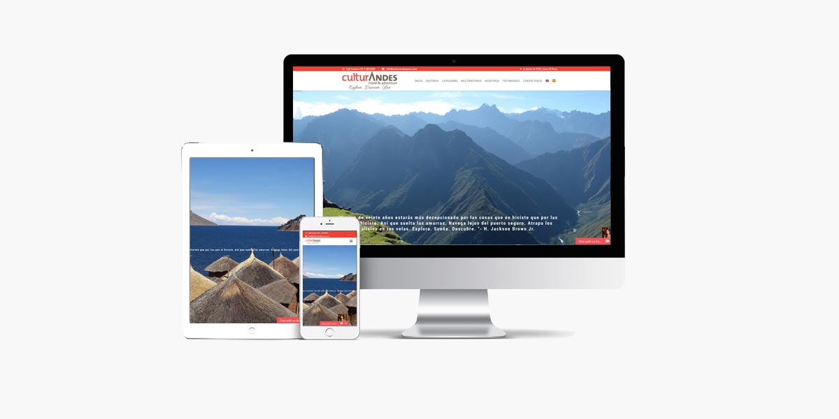 Diseño web Culturandesperu